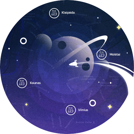 Tyrėjų naktis – 2019 Molėtų astronomijos observatorijoje